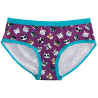 Sock It To Me Women's Smarty Cats Bikini Brief