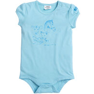 Carhartt Infant Girl's Farm Friends Short-Sleeve Bodyshirt