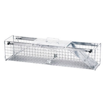 "Havahart 30"" Medium Two-Door Live Animal Cage Trap"