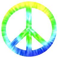 Sticker Cabana Peace Sign Sticker