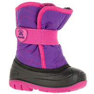 Kamik Toddler Boys' & Girls' Snowbug 3 Insulated Winter Boot