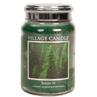 Village Candle Large Glass Jar Candle - Balsam Fir