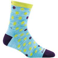 Darn Tough Vermont Boys' & Girls' Dot and Stripe Crew Light Cushion Sock