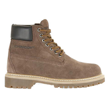 Chinook Mens 6 Worker Suede Soft Toe Work Boot