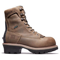 "Timberland PRO Men's 8"" Evergreen Waterproof Insulated Composite Toe Logger Work Boot"