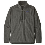 Patagonia Men's Better Sweater Rib Knit 1/4-Zip Fleece Pullover