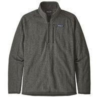 Patagonia Men's Better Sweater Rib Knit 1/4-Zip Fleece Pullover