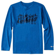 Carhartt Boys' Force Carhartt Outdoors Long-Sleeve T-Shirt