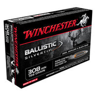 Winchester Ballistic Silvertip 308 Winchester 168 Grain Polymer Tip Rifle Ammo (20)