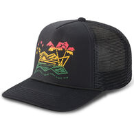 newest 5b2d2 89544 Dakine Men s Electric Sunset Trucker Hat