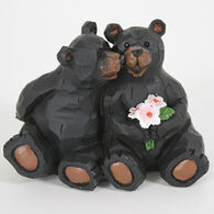 Slifka Sales Co Sitting Bear Couple Figurine