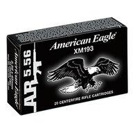 American Eagle 5.56x45mm 55 Grain FMJ BT Rifle Ammo (500)