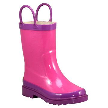 Western Chief Girls Classic Fire Chief Rain Boot
