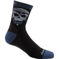 Darn Tough Vermont Boys' Skulls Crew Light Sock