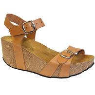 Laurevan Shoe Women's Lola Sabbia Whitney Wedge Sandal