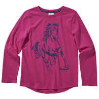 Carhartt Girl's Horse Graphic Long-Sleeve Shirt