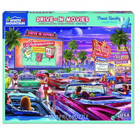 White Mountain Jigsaw Puzzle - Drive-In Movies