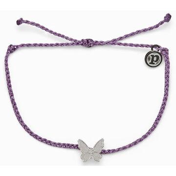 Pura Vida Bracelets Womens Butterfly in Flight Charm Bracelet