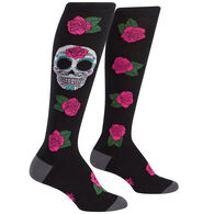 Sock It To Me Women's Sugar Skull Sock
