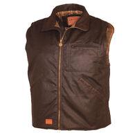 Outback Trading Men's Sawbuck Oilskin Vest