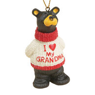 Big Sky Carvers I Love Grandma Ornament