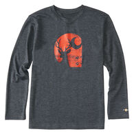 Carhartt Boys' Force Deer C Long-Sleeve T-Shirt