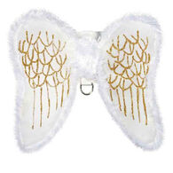 Zack & Zoey Angel Wing Dog Harness Costume