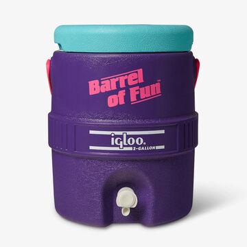 Igloo Retro Barrel of Fun 2 Gallon Insulated Jug