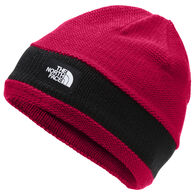 The North Face Youth TNF Logo Stripe Beanie