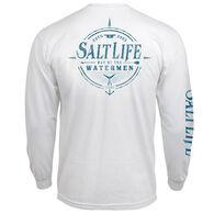 Salt Life Men's Watermen Way Long-Sleeve T-Shirt
