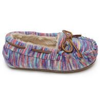 Minnetonka Girls' Fleece Cassie Slipper