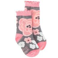 Stephen Joseph Girl's Floral Sock