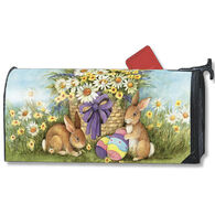 MailWraps East Bunnies Magnetic Mailbox Cover