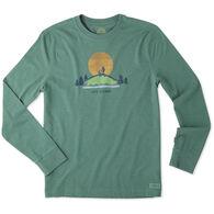 Life is Good Men's Hike Vista Crusher Long-Sleeve T-Shirt