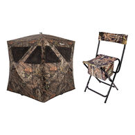 Ameristep Care Taker Magnum 3-Person Ground Blind w/ Chair