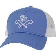 Salt Life Men's Skull and Hooks Mesh Hat