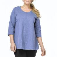 Habitat Women's A-Line Crew 3/4-Sleeve Shirt