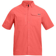 Under Armour Men's UA Fish Hunter Solid Short-Sleeve Shirt