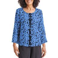 Habitat Women's Bead Stripe Swing Jacket