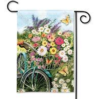 BreezeArt Morning Ride Garden Flag