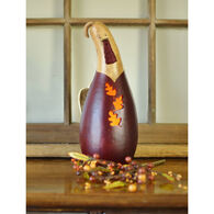 Meadowbrooke Gourds Lyden Medium Tall Lit Turkey Gourd