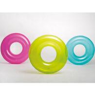 Intex Transparent Inflatable Swim Tube - Assorted Colors