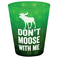 Cape Shore Maine Don't Moose With Me Shot Glass
