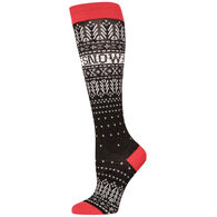 Krimson Klover Women's Let It Snow Ski Sock