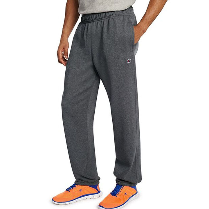Champion Men's Powerblend Sweats Relaxed Bottom Pant