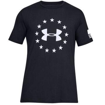 Under Armour Mens UA Freedom Logo Short-Sleeve T-Shirt