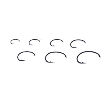 Tiemco TMC2457 Nymph Fly Hook - 25 Pk.