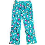 Candy Pink Girl's Penquin Pajama Pant
