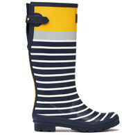 Joules Women's Printed Tall Rain Boot