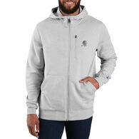 Carhartt Men's Big & Tall Force Delmont Graphic Full-Zip Hooded Sweatshirt